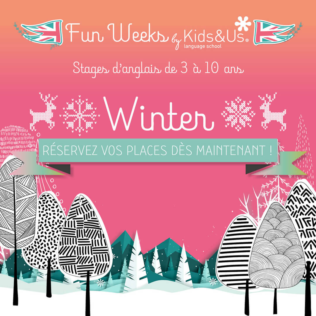 Registration is open for our winter English Fun Week!